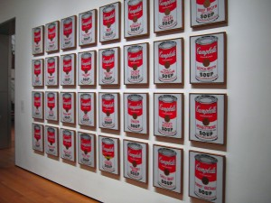 Andy Warhol – Campbells Soup Cans – Museum of Modern Art Foto: Mario Graß